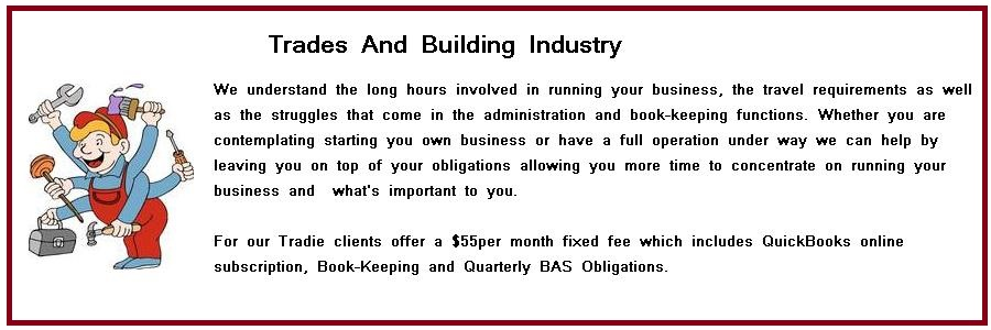 Trades and Building Industry We can Help